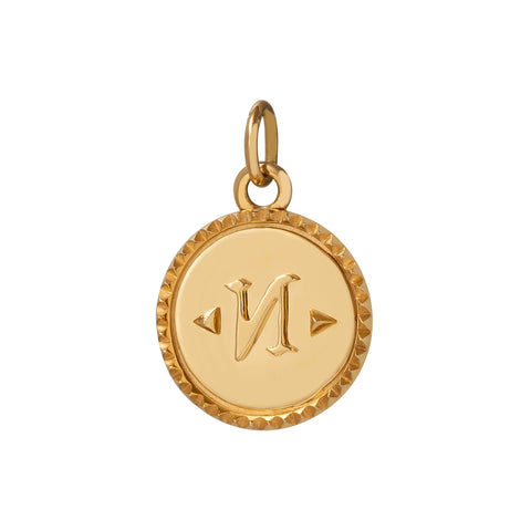 Baby True North Medallion - Foundrae - Charms & Pendants | Broken English Jewelry