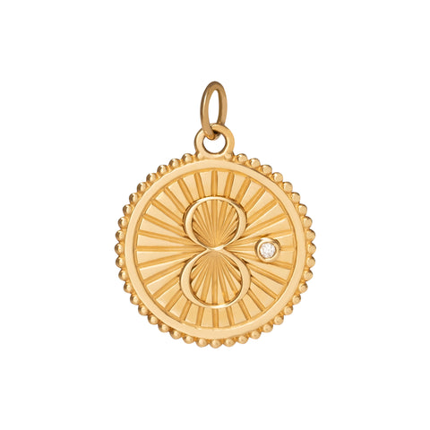 Medium Karma Medallion  - Foundrae - Charms & Pendants | Broken English Jewelry