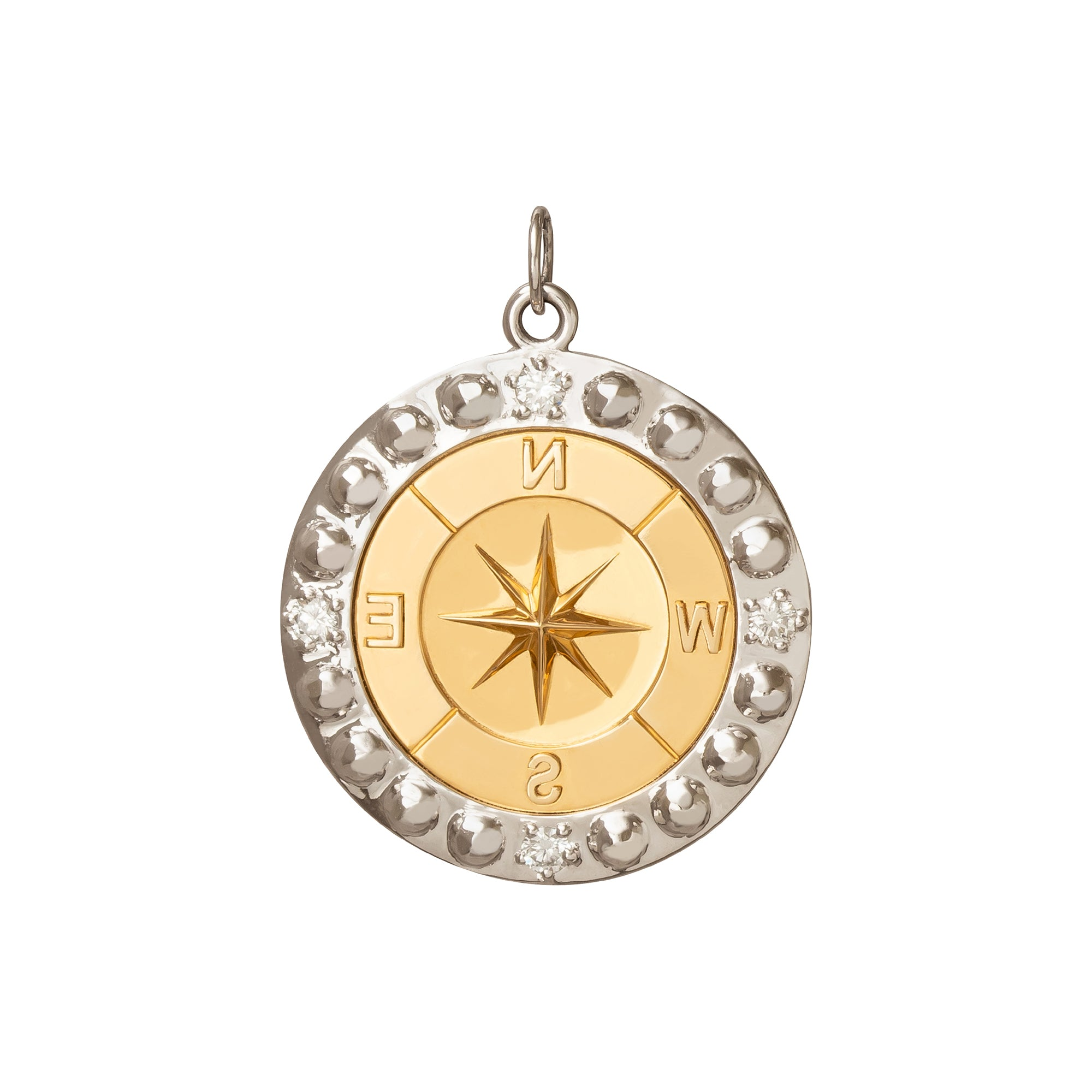 Large Course Correction Medallion - Foundrae - Charms & Pendants | Broken English Jewelry