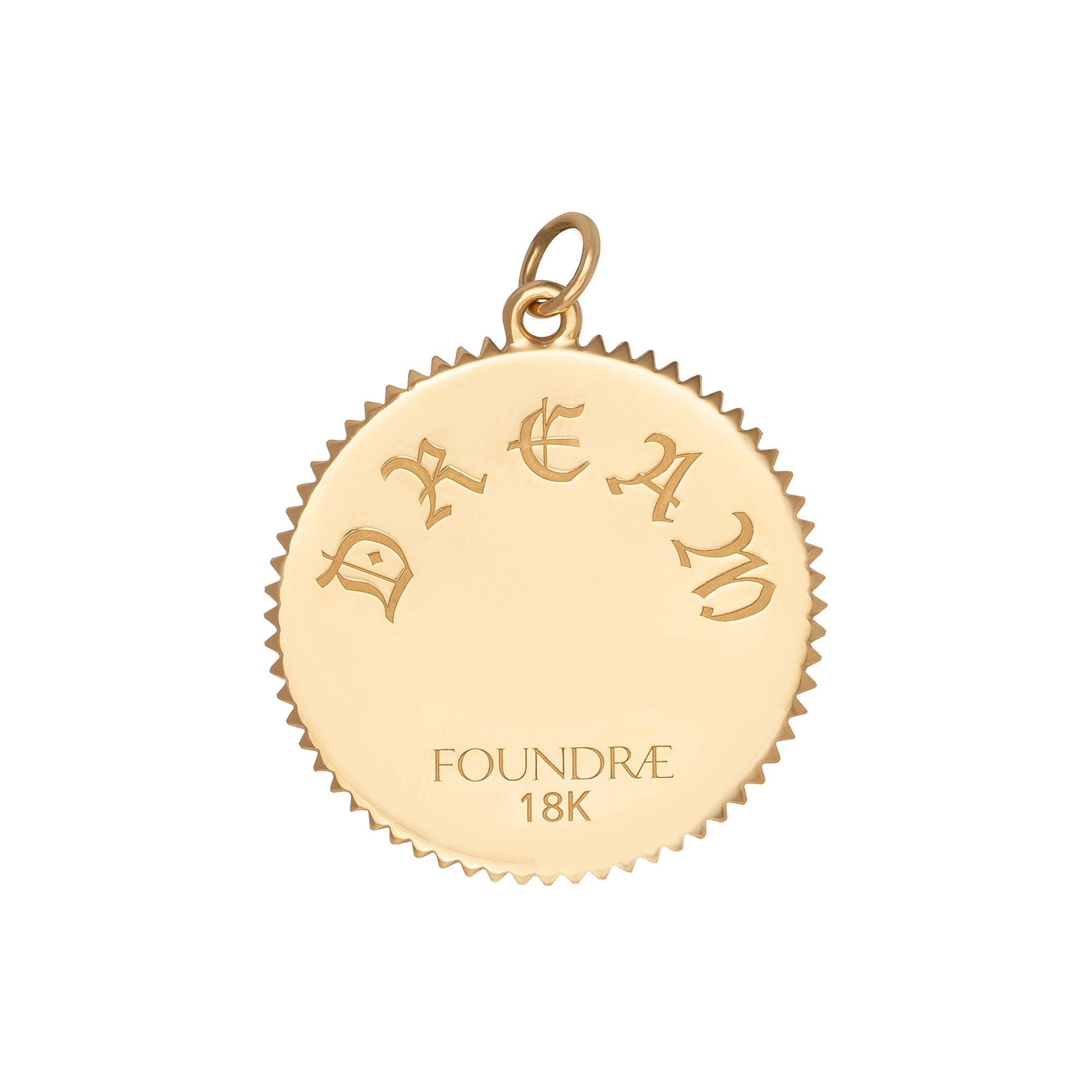 Large Dream Medallion - Foundrae - Charms & Pendants | Broken English Jewelry