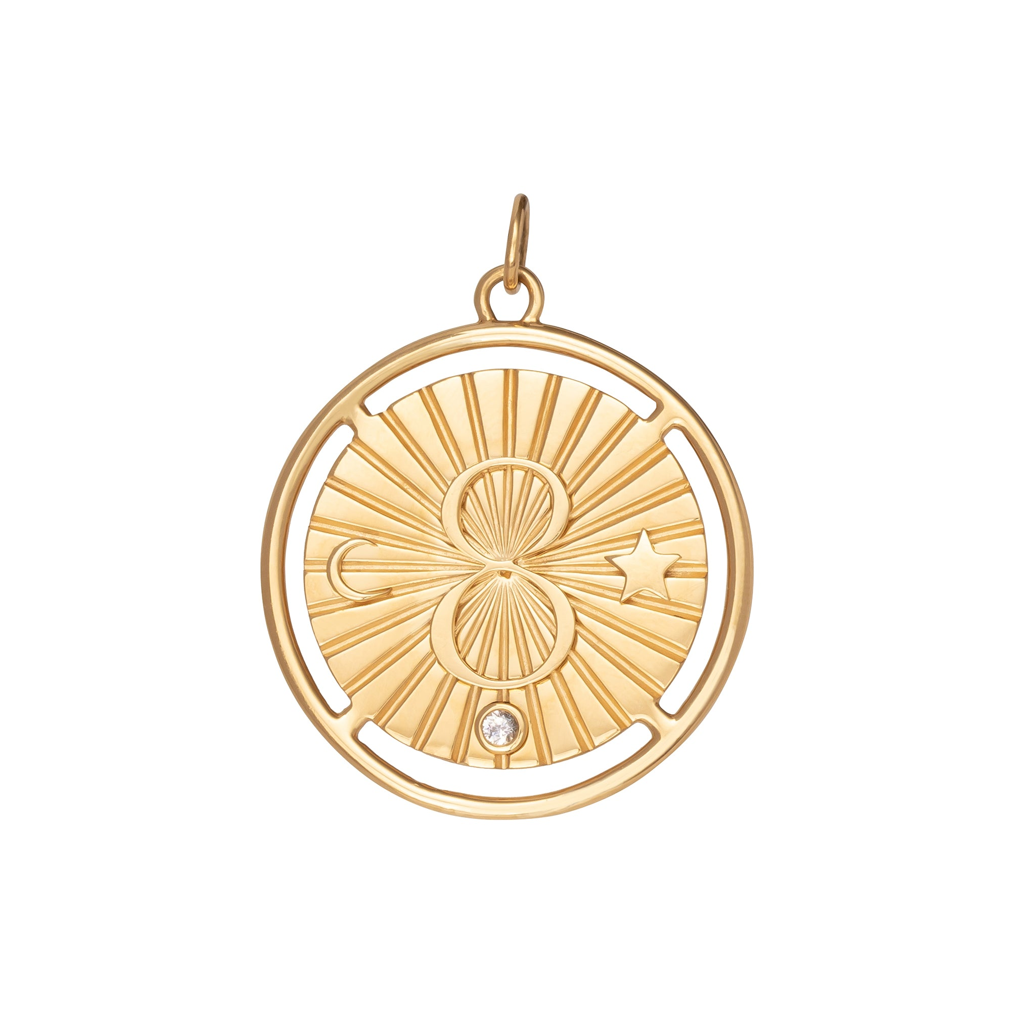 Large Karma Medallion - Foundrae - Charms & Pendants | Broken English Jewelry