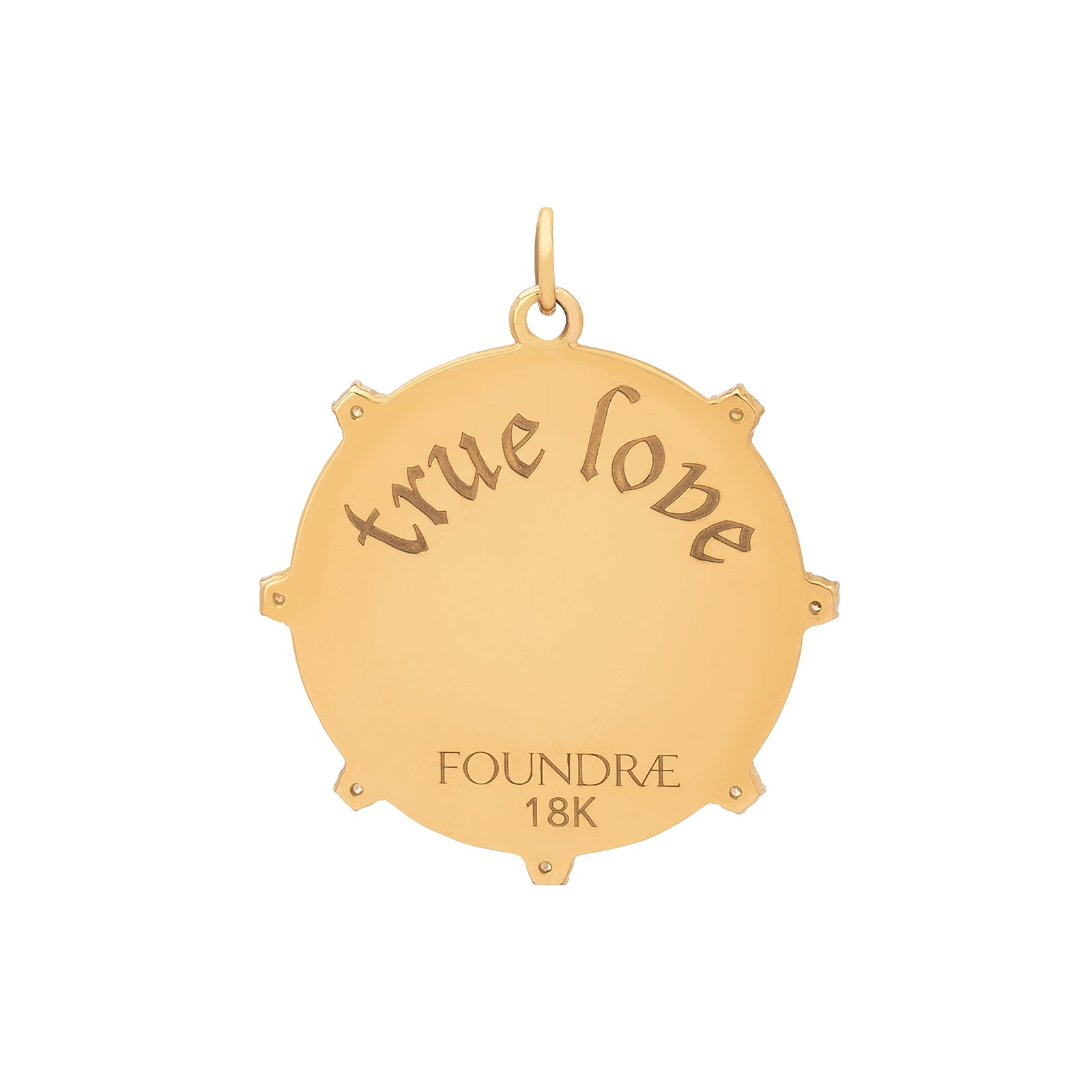 Foundrae Large True Love Medallion - Charms & Pendants - Broken English Jewelry