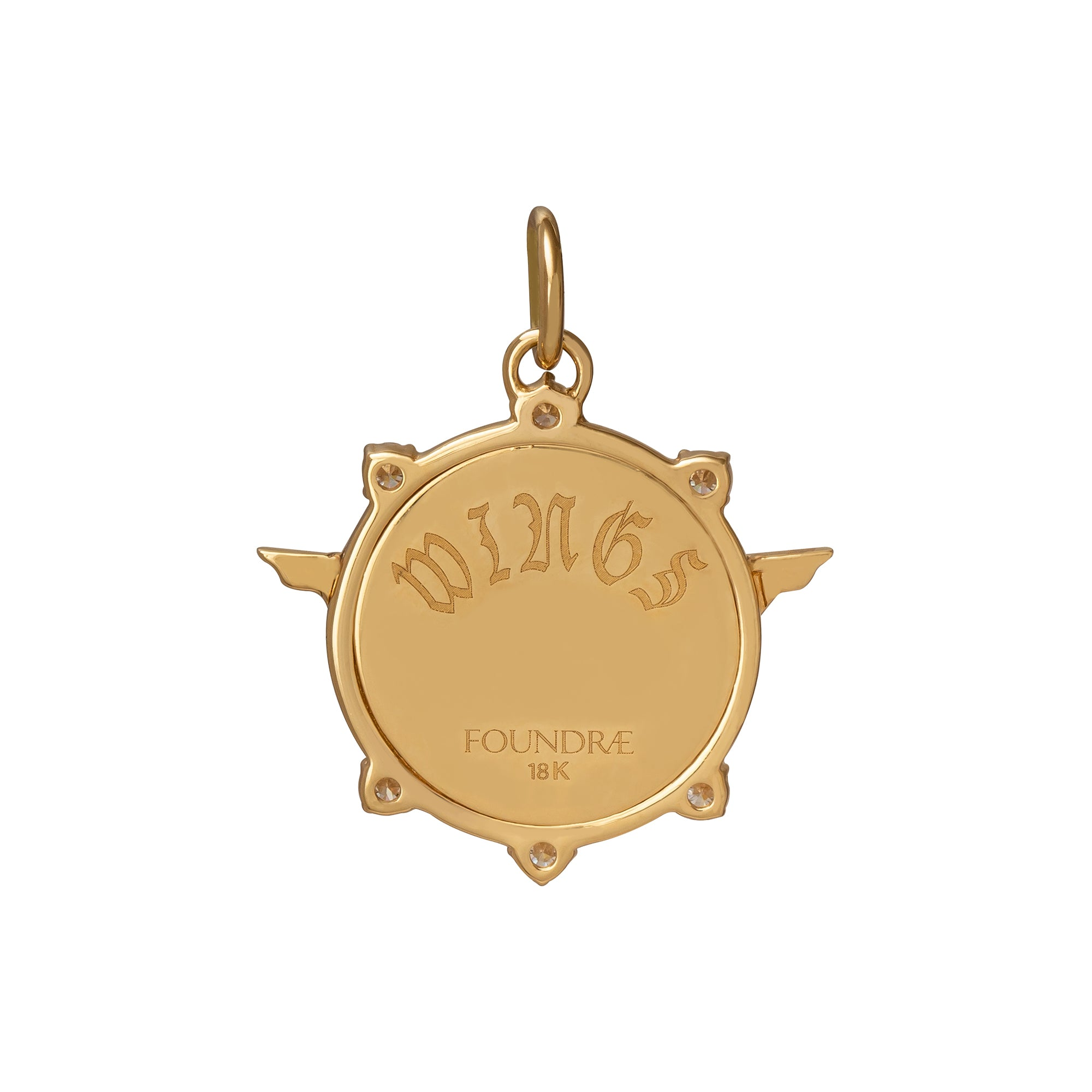 Baby Passion Medallion - Foundrae - Charms & Pendants | Broken English Jewelry