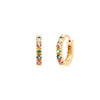Carolina Neves Rainbow Huggies - Earrings - Broken English Jewelry