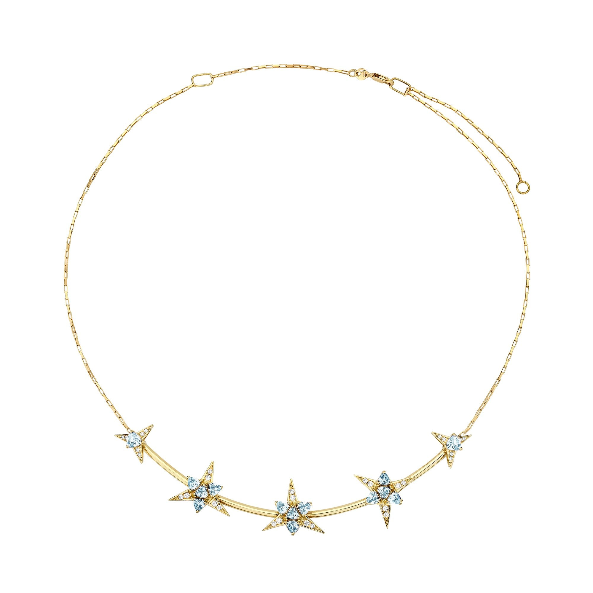 Galactic Star Necklace - Carol Kauffman - Necklaces | Broken English Jewelry
