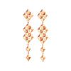 Python Symmetrical Drop Earrings - Cadar - Earrings | Broken English Jewelry