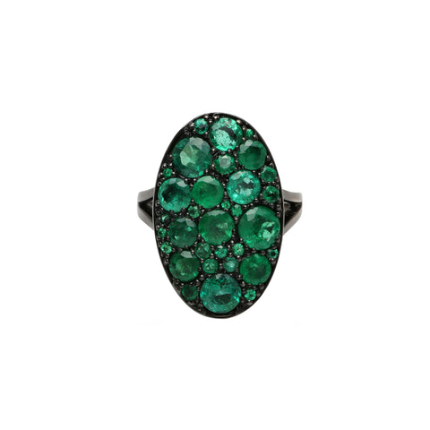 Emerald Les Chevalie Ring by Colette for Broken English Jewelry