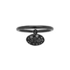 Black Baby Les Chevalie Charm Ring by Colette for Broken English Jewelry