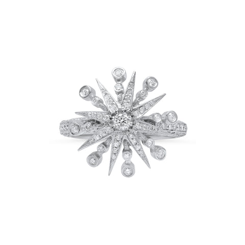 Radiant Star Ring by Colette for Broken English Jewelry