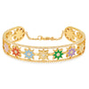 Banded Multicolor Galaxia Cuff by Colette for Broken English Jewelry