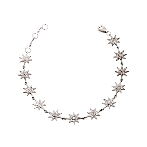 White Star Chain Bracelet