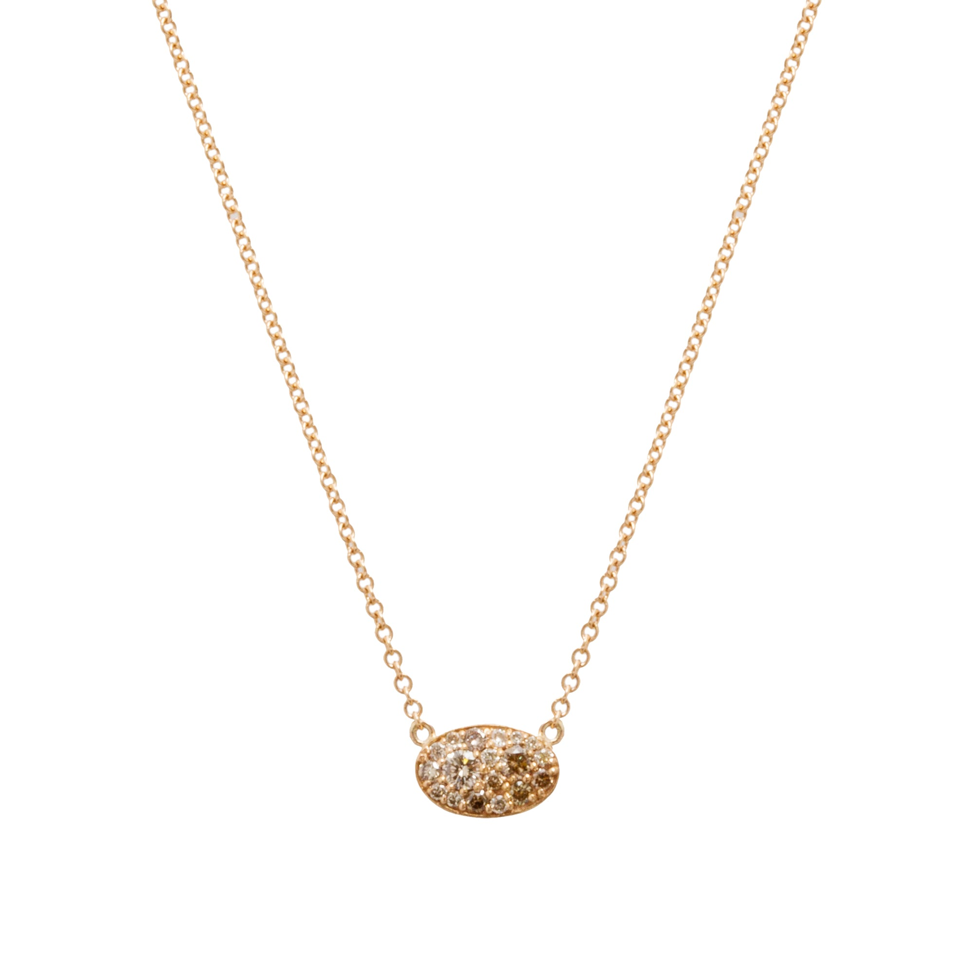 Champagne Diamond Les Chevaliers Necklace