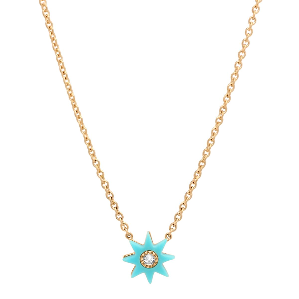 Turquoise Star Necklace by Colette for Broken English Jewelry