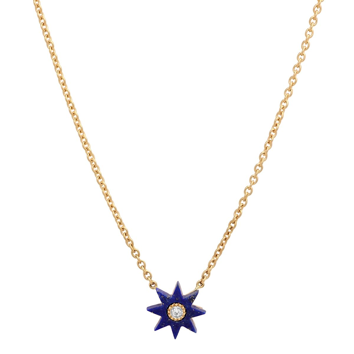 Lapis Blue Star Necklace by Colette for Broken English Jewelry
