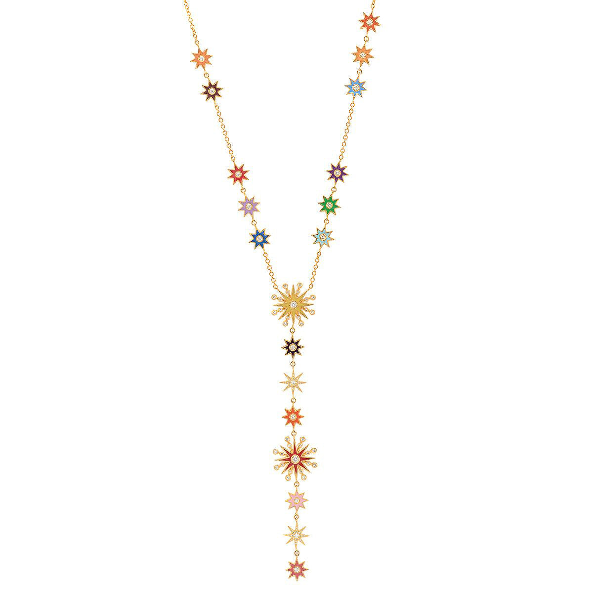 Star Lariat Necklace by Colette for Broken English Jewelry