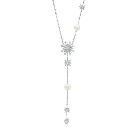 Galaxia Star Drop Necklace by Colette for Broken English Jewelry