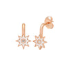 White Star Drop Earrings by Colette for Broken English Jewelry