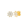Ivory Star Studs by Colette for Broken English Jewelry