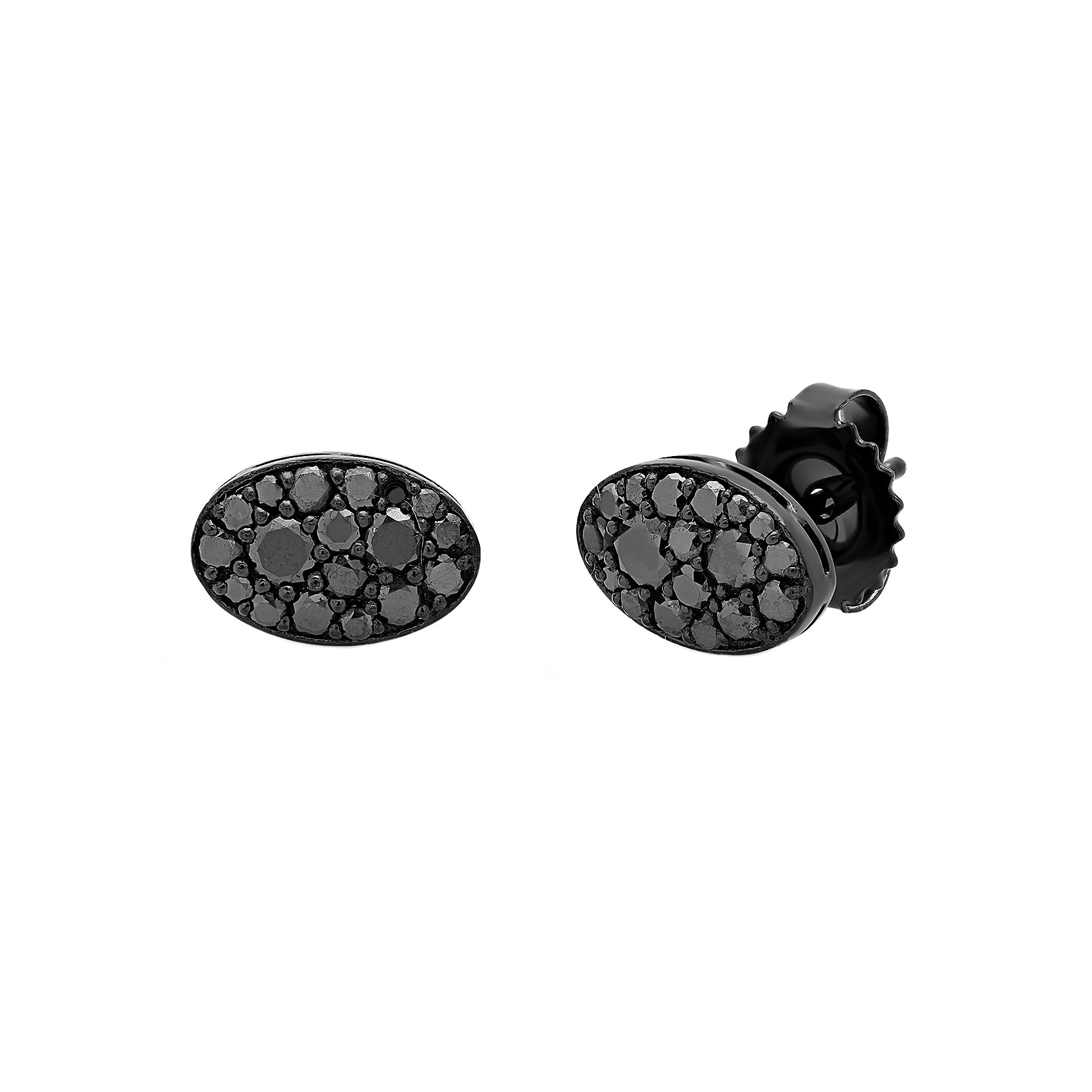 Black Baby Les Chevalie Earrings by Colette for Broken English Jewelry