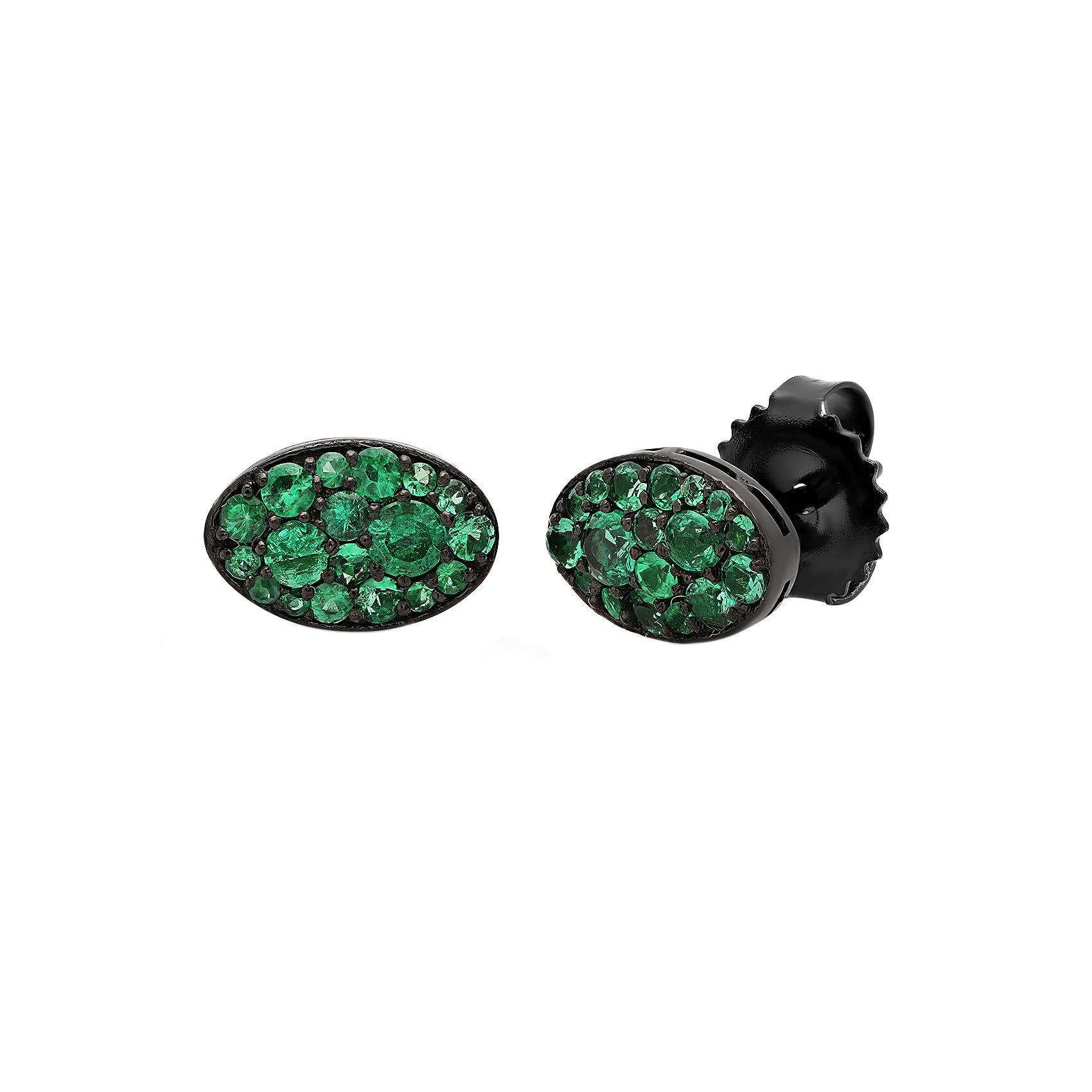 Emerald Baby Les Chevalie Earrings by Colette for Broken English Jewelry