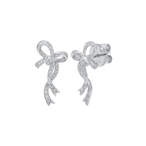 Bow Earrings by Colette for Broken English Jewelry
