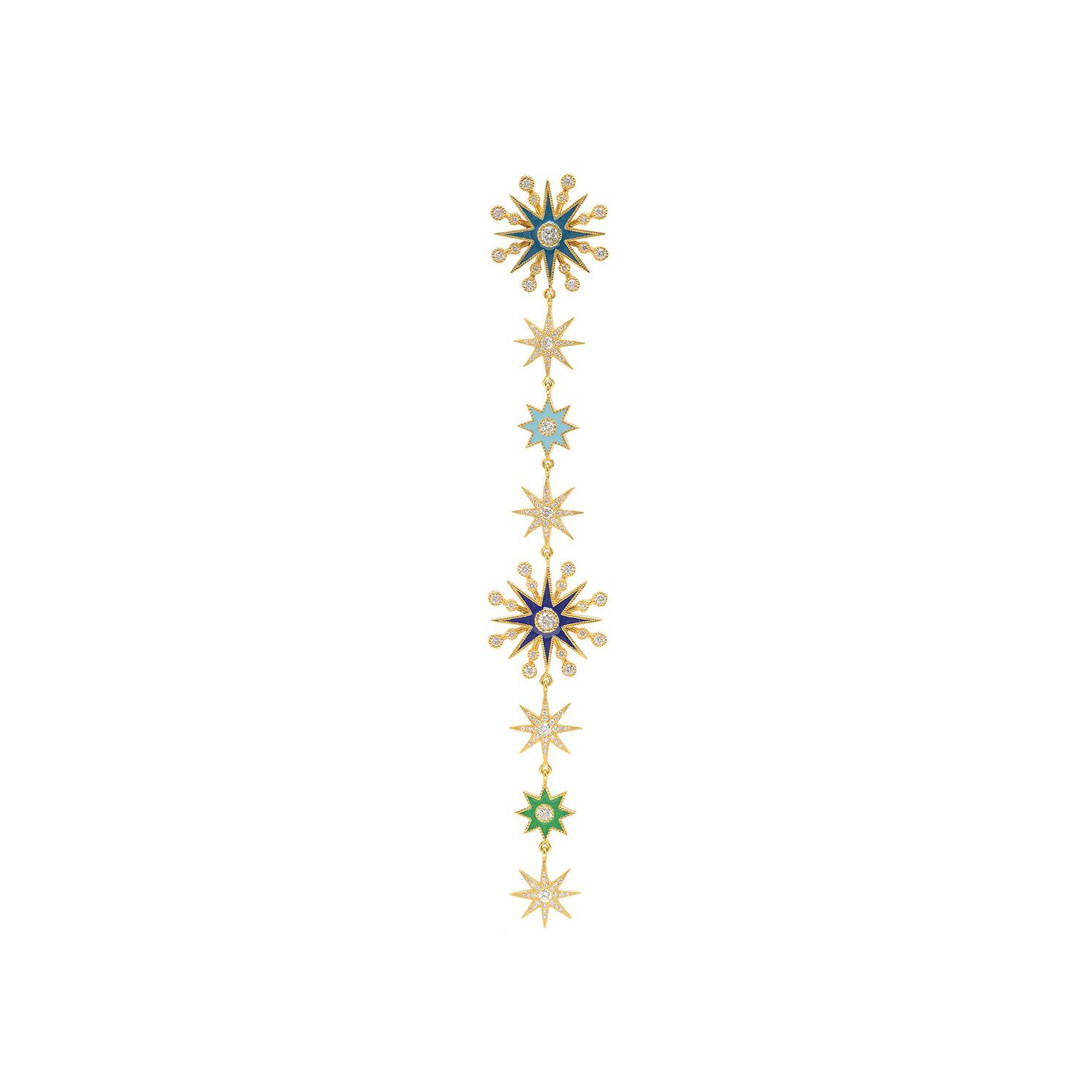 Multicolor Star Duster by Colette for Broken English Jewelry