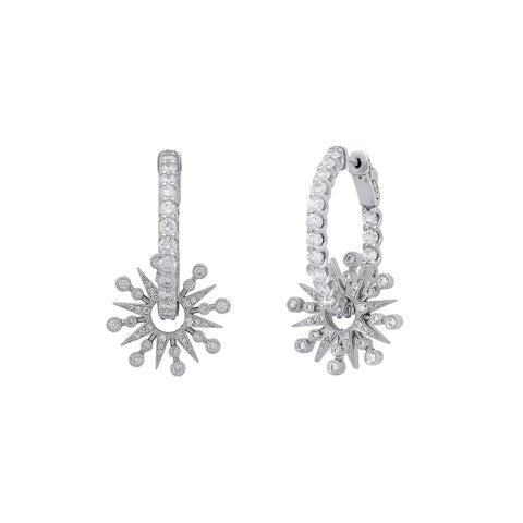 Star Hoops by Colette for Broken English Jewelry