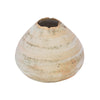 Alzamora Ceramics Small Beige Seedpod Vessel - Home & Decor - Broken English Jewelry
