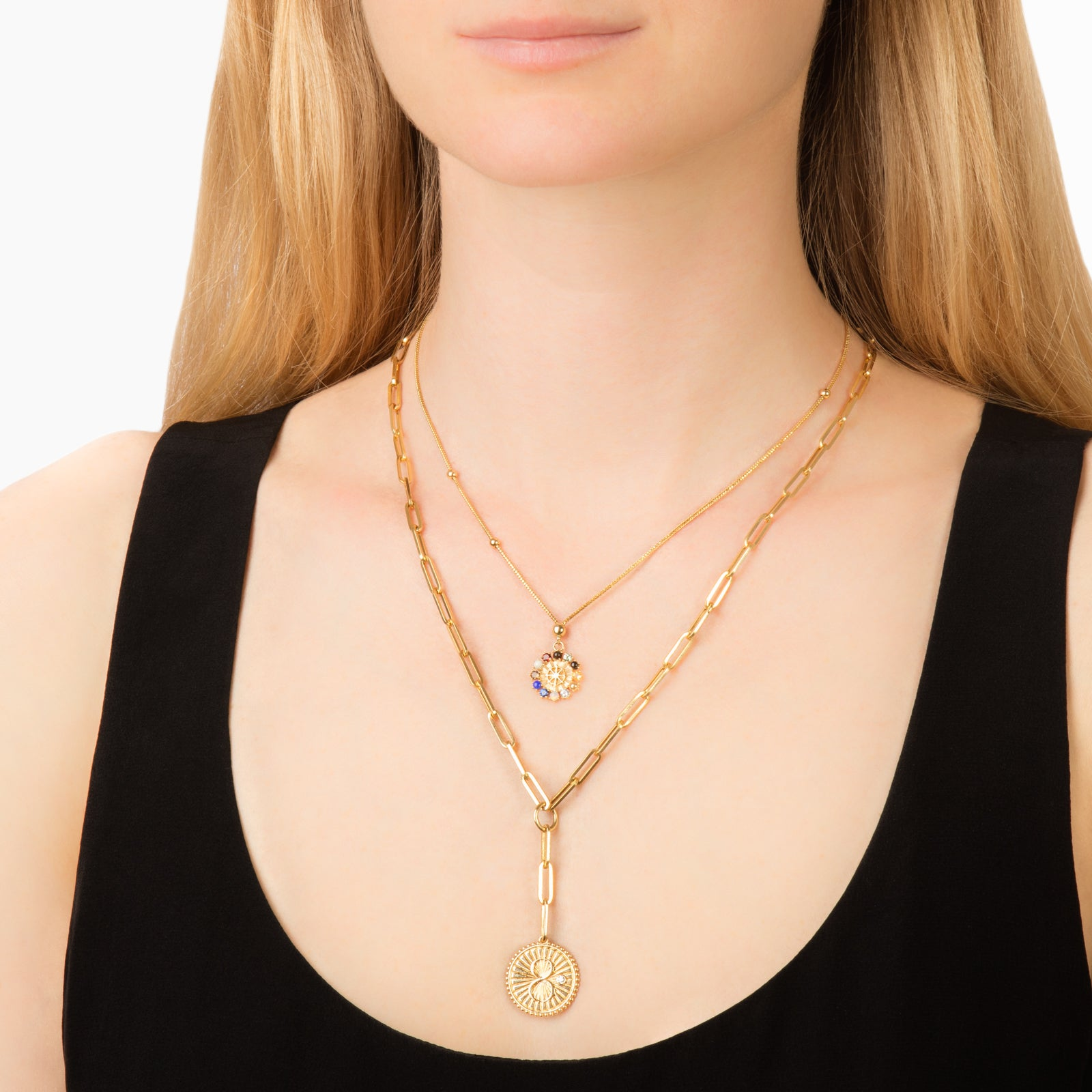 Foundrae Aether Dotted Choker - Necklaces - Broken English Jewelry