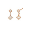 Diamond Cluster Earrings - Rosa de la Cruz - Earrings | Broken English Jewelry