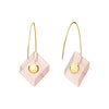 Yael Sonia Deco Reverse Fit Square Earrings - Earrings - Broken English Jewelry