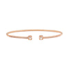 Dinh Van Le Cube Diamant Large Bracelet - Rose Gold - Bracelets - Broken English Jewelry