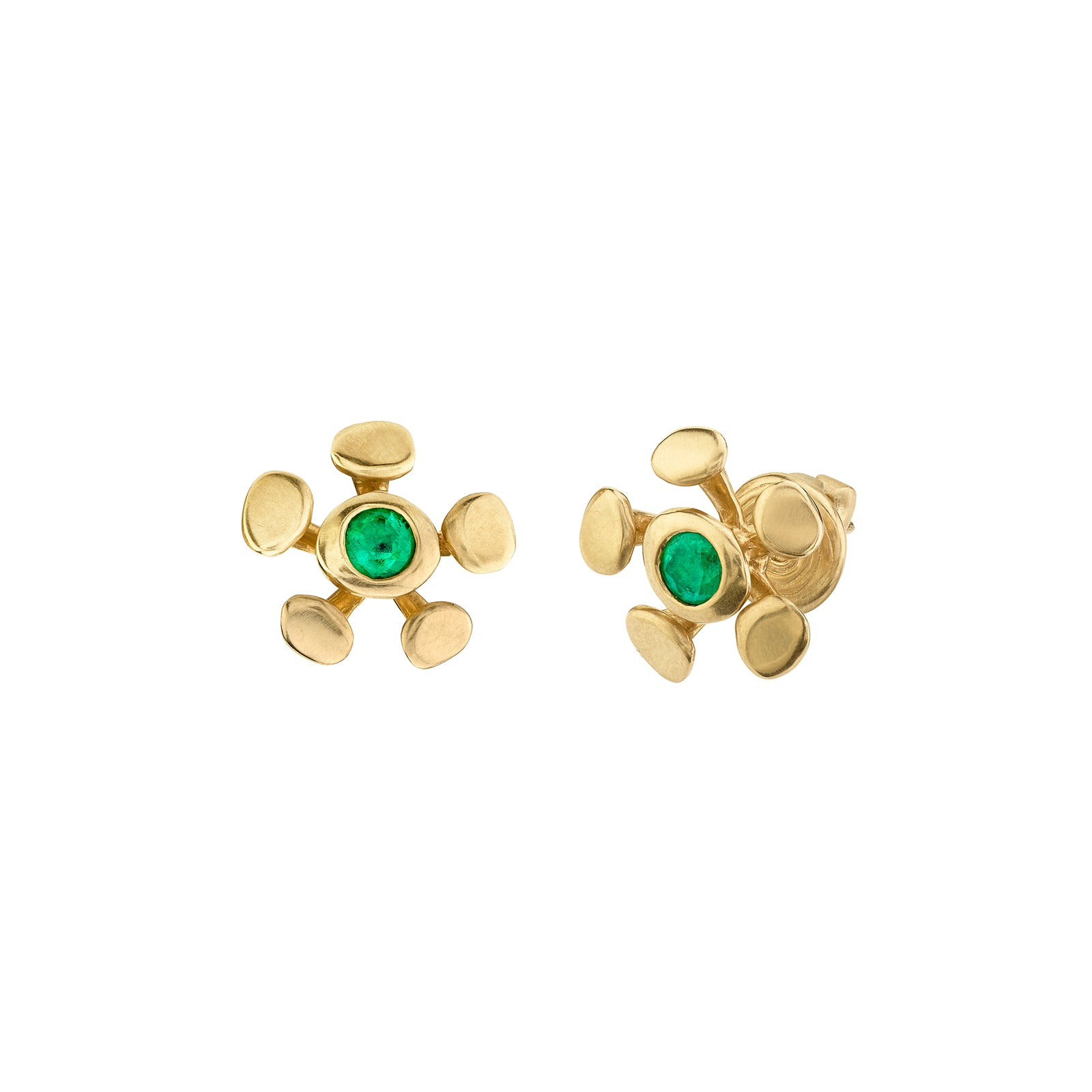 VRAM Chrona Studs - Earrings - Broken English Jewelry