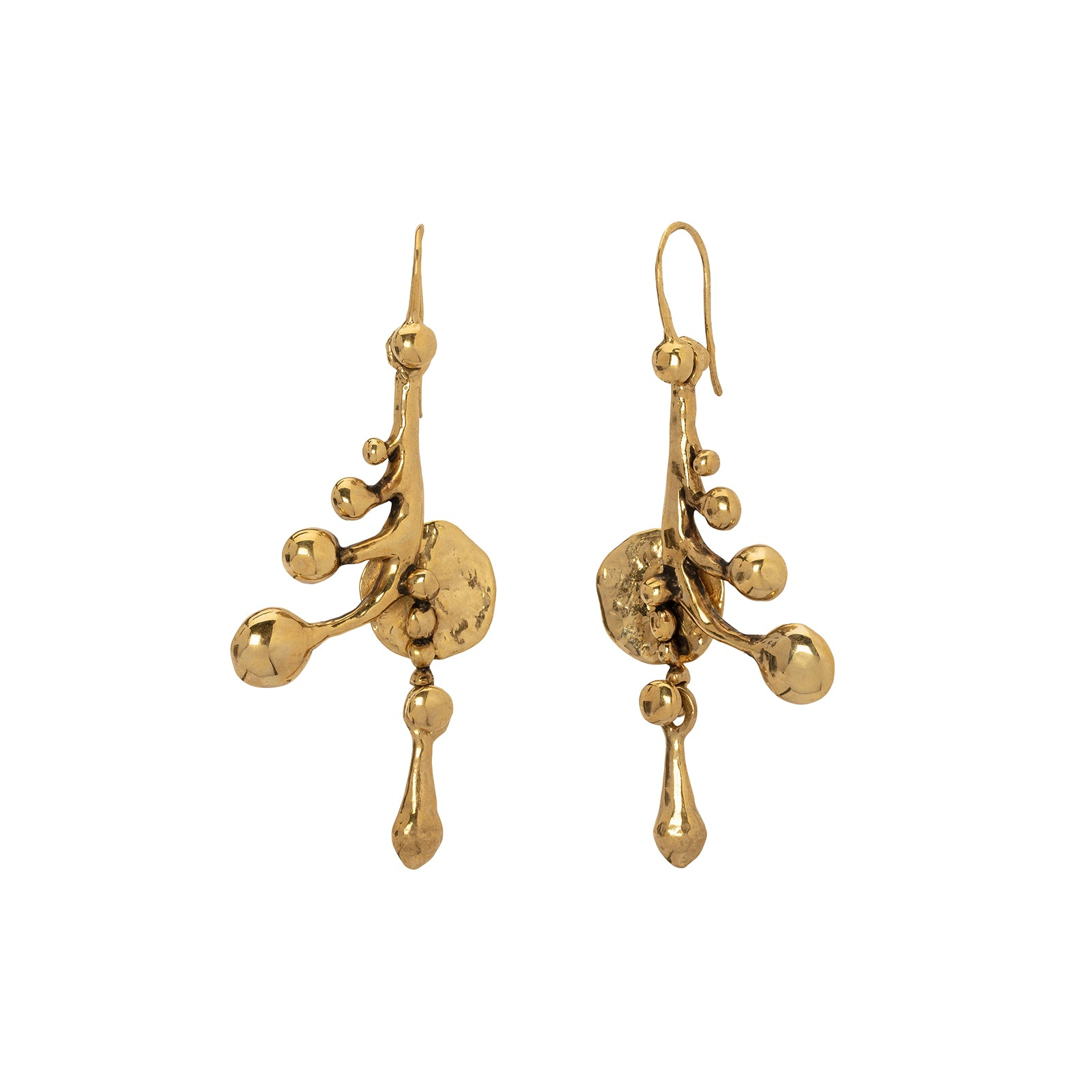 Lisa Eisner Jewelry Sea Wheat Earrings - Earrings - Broken English Jewelry