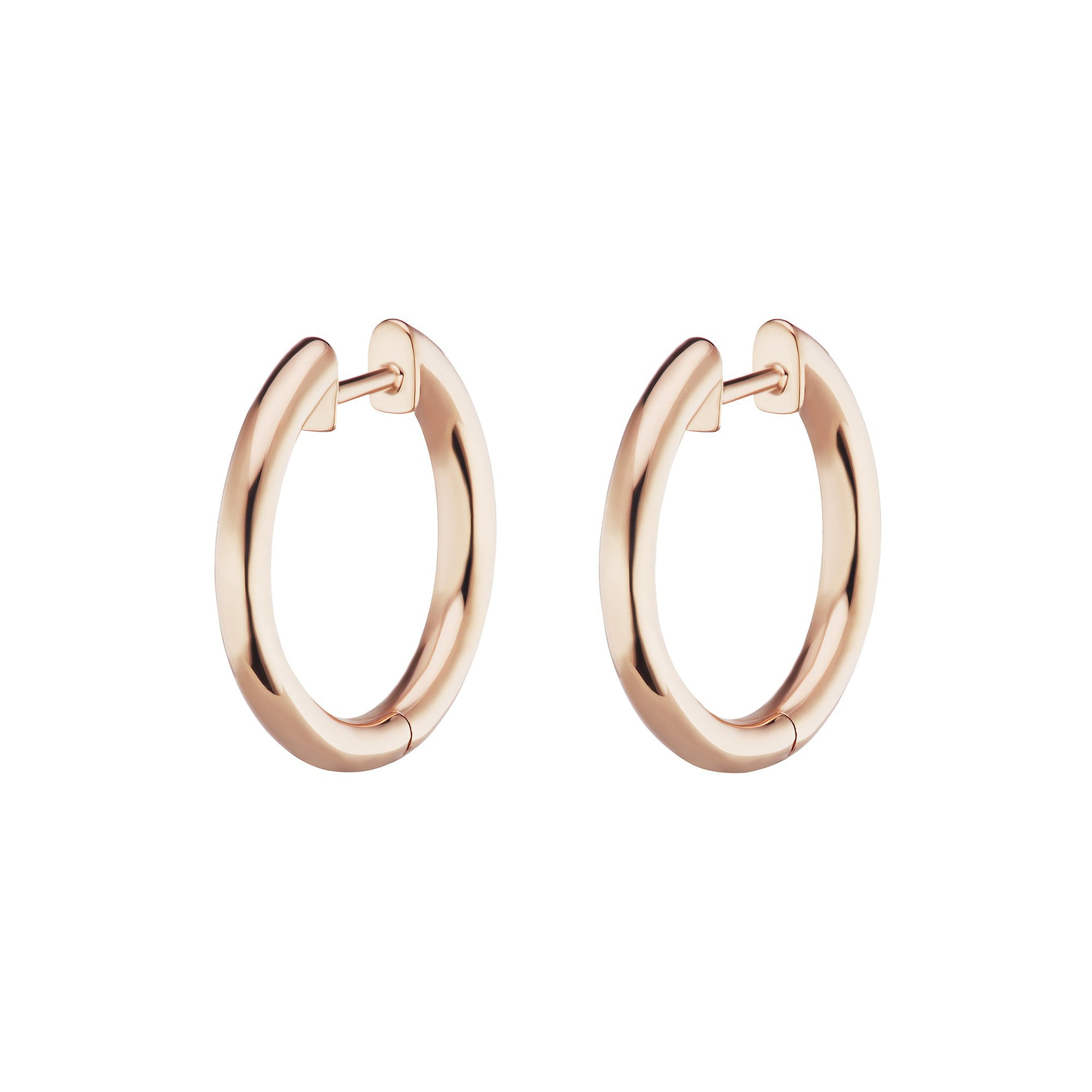 Traditional Espionne Hoops 13mm - Altruist - Earrings | Broken English Jewelry