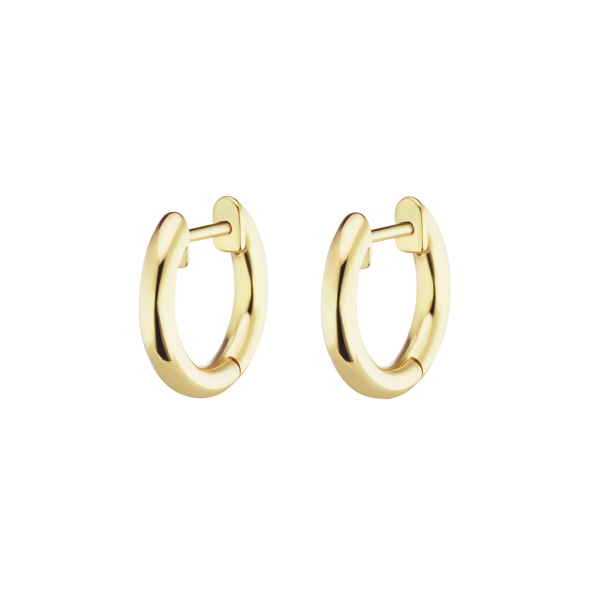 Traditional Espionne Hoops 8mm - Altruist - Earrings | Broken English Jewelry