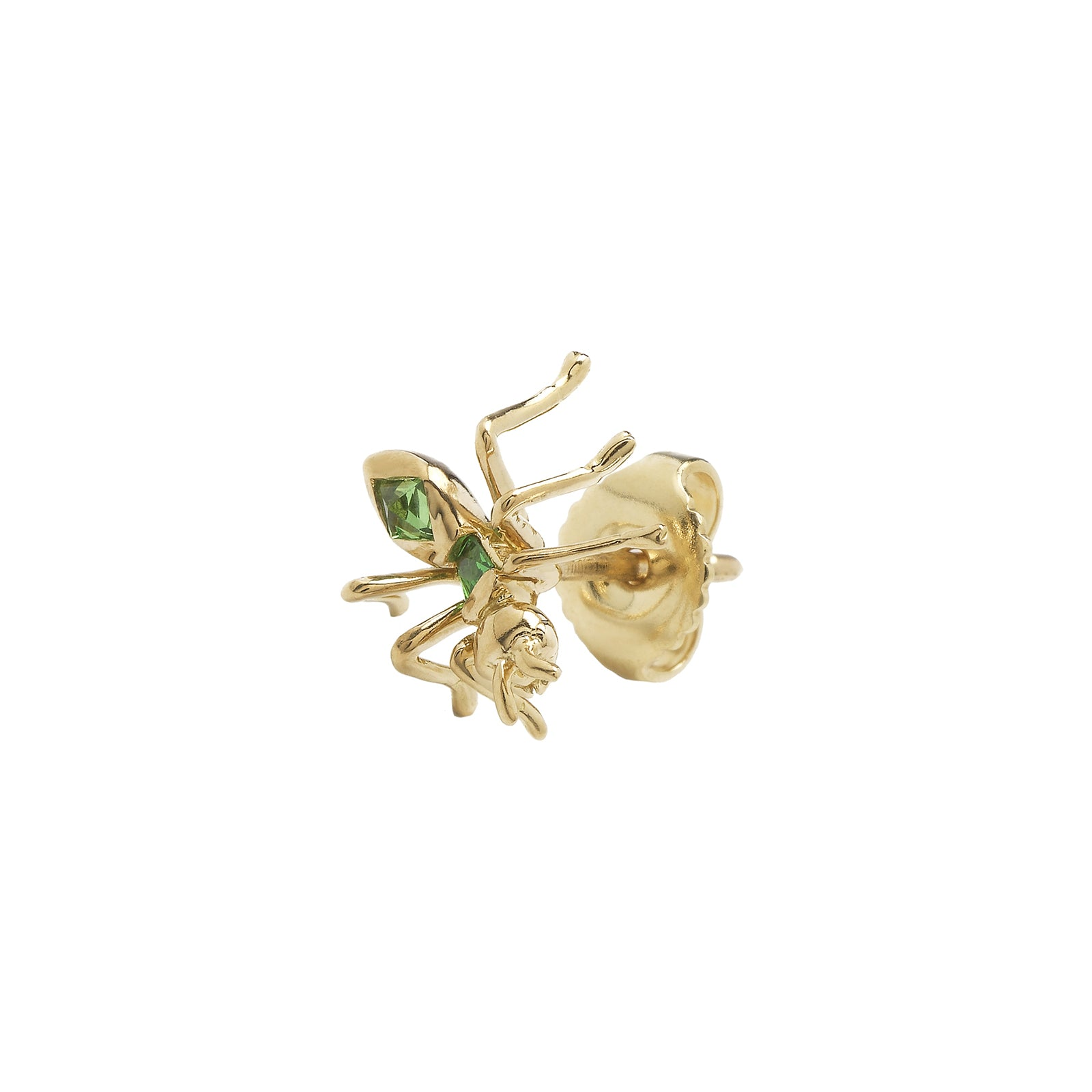 Bibi van der Velden Tsavorite Ant Stud Earrings - Earrings - Broken English Jewelry