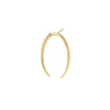 Gabriela Artigas & Company Lunula Single Earring - Yellow Gold - Earrings - Broken English Jewelry