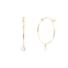 Persée Paris Closed Hoop Diamond Earrings - Earrings - Broken English Jewelry
