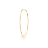 Gabriela Artigas & Company Cosmos Pearl Hoop - Yellow Gold 35mm - Earrings - Broken English Jewelry