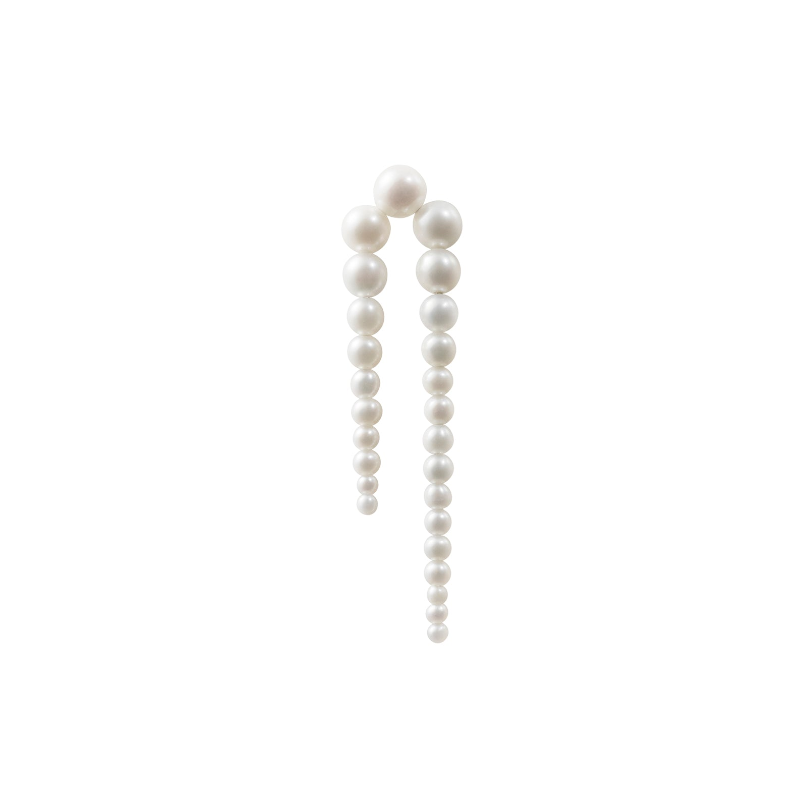 Sophie Bille Brahe Perle Nuit Earring - Right - Earrings - Broken English Jewelry
