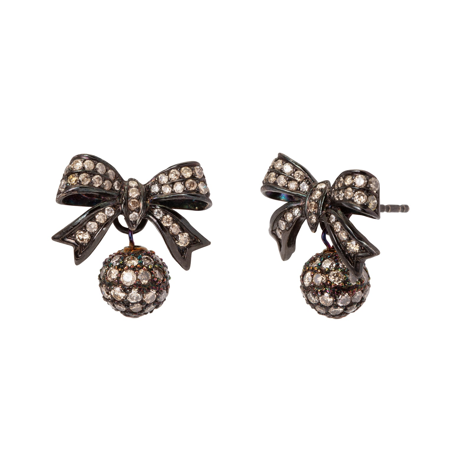 Colette Party Bow Earrings - Earrings - Broken English Jewelry