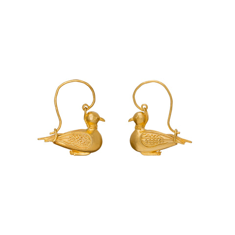 Bird Earrings - Christina Alexiou - Earrings | Broken English Jewelry