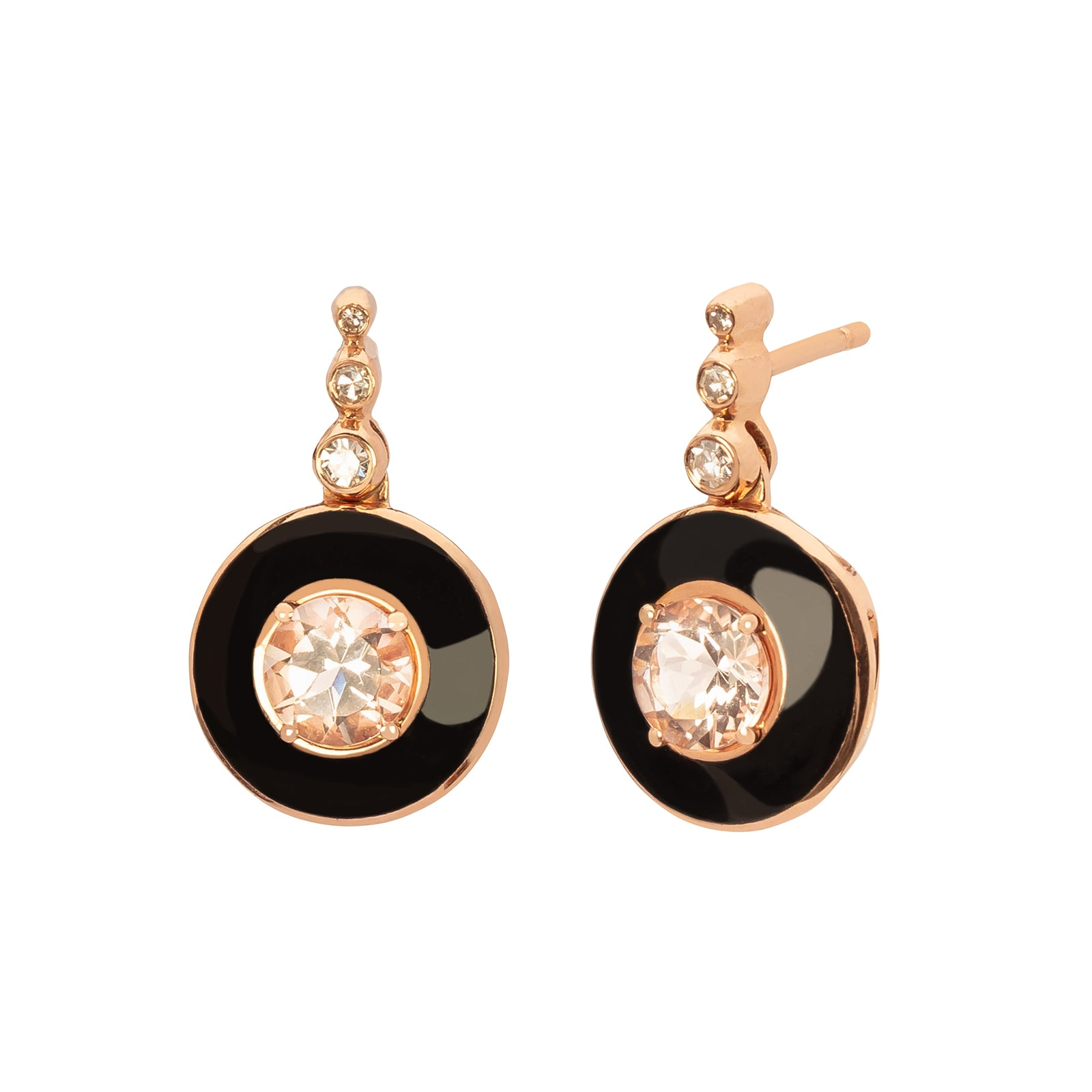 Selim Mouzannar Mina Earrings - White Diamond - Earrings - Broken English Jewelry