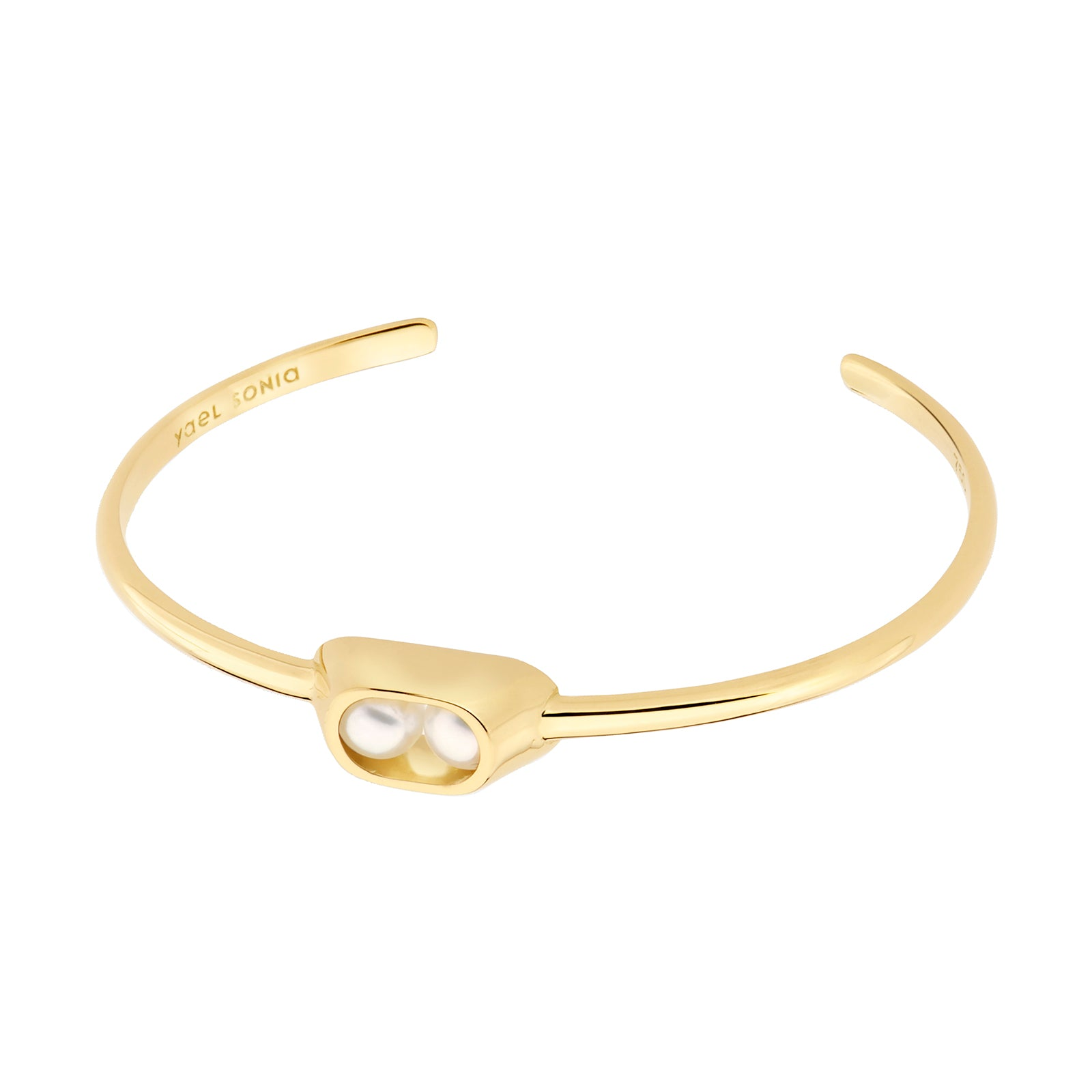 Yael Sonia Ellipse Cocoon Cuff - Bracelets - Broken English Jewelry
