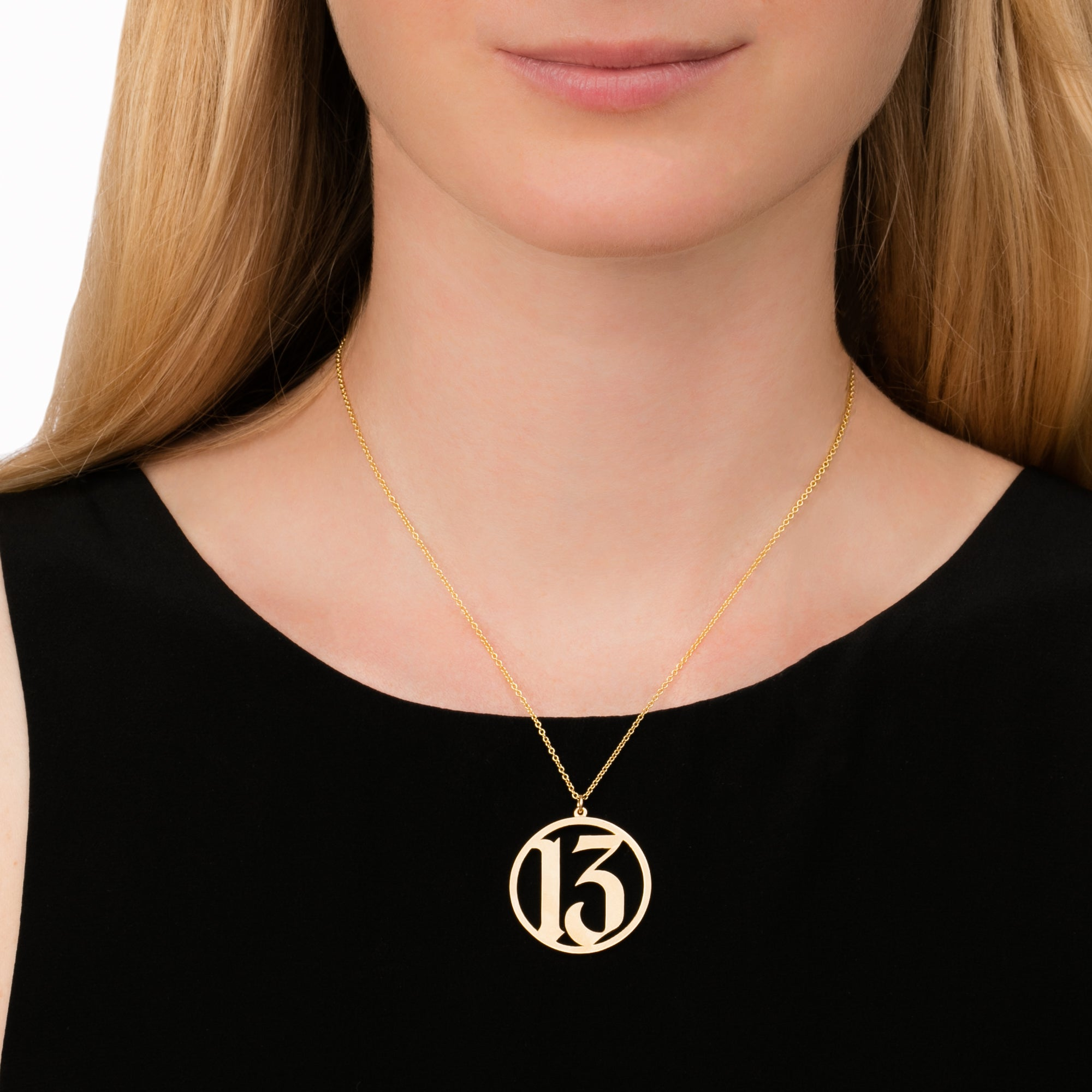 Established Jewelry 13 Pendant Necklace - Necklaces - Broken English Jewelry