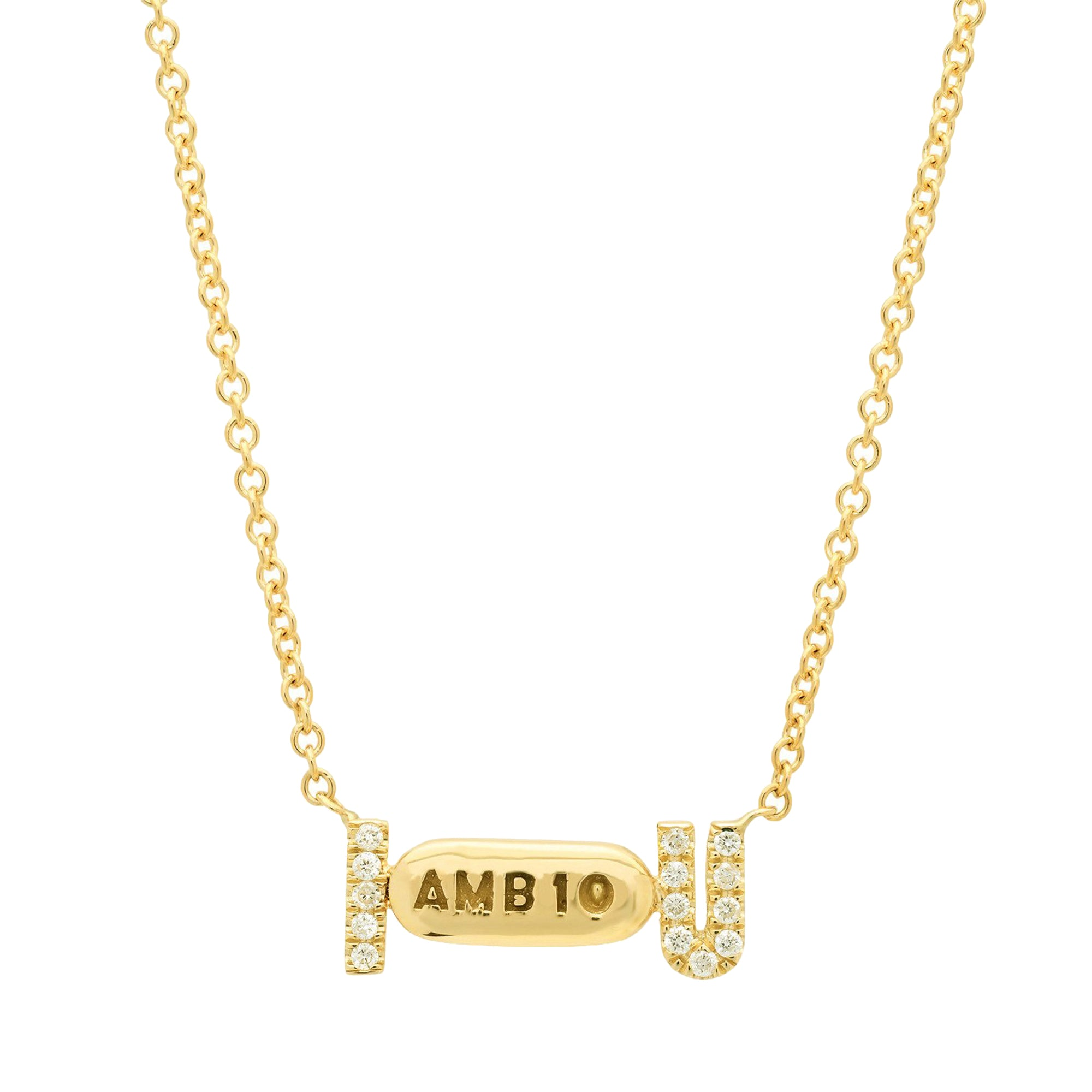 I Ambien You Necklace