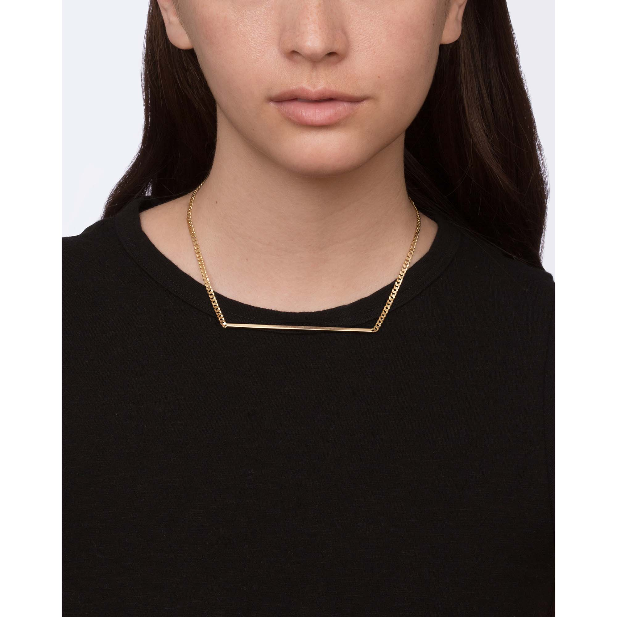 Gold Muzzle Choker by Established for Broken English Jewelry