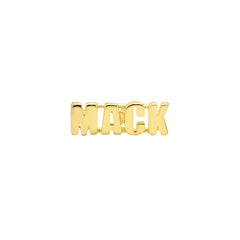 Gold Mack Stud by Established for Broken English Jewelry
