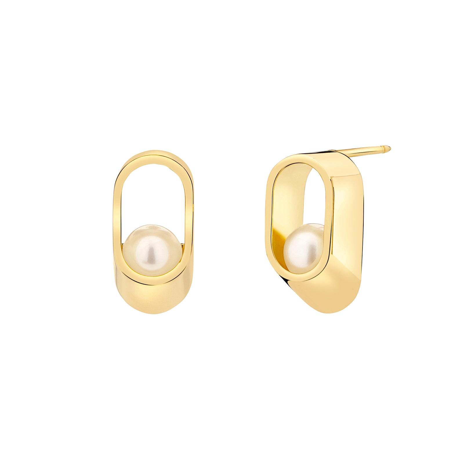 Yael Sonia Ellipse Earrings - Earrings - Broken English Jewelry